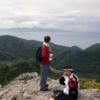 登山時の写真